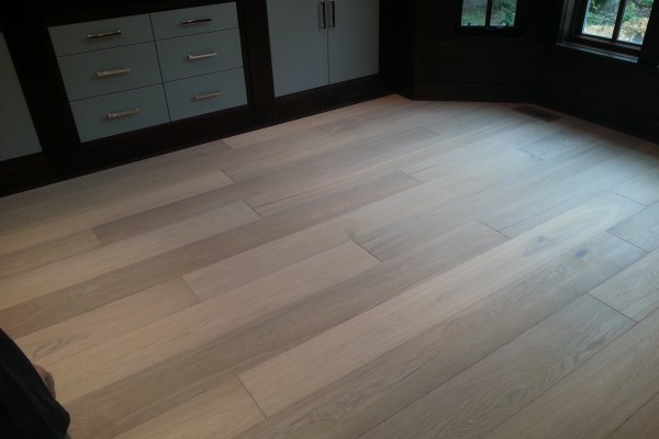 7 inch prefinish white oak