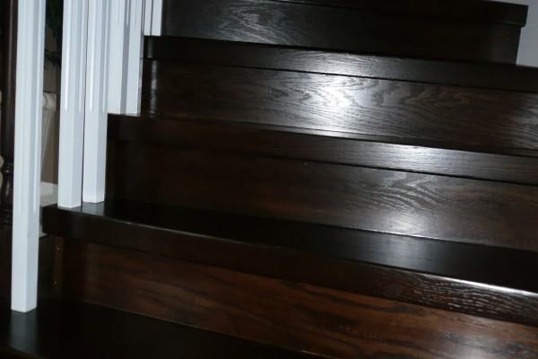 Installation steps with white spindles