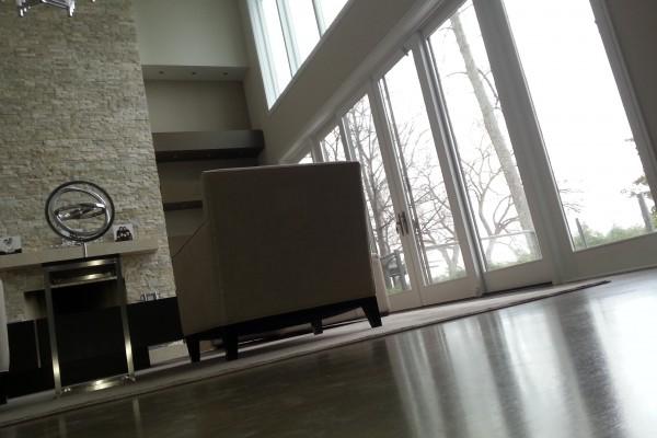 Wide plank hardwood, installation