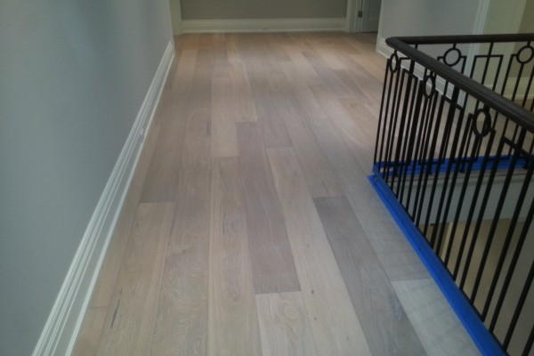 Hardwood installation with kentwood flooring