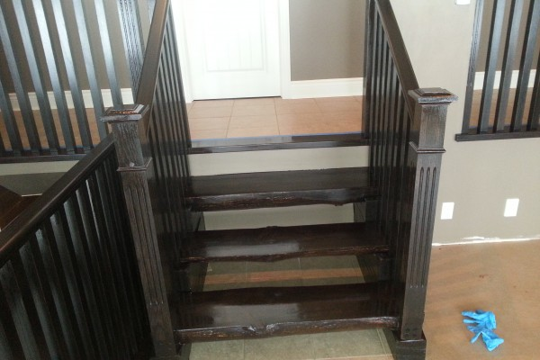 Refinishing Stair Railing GTA