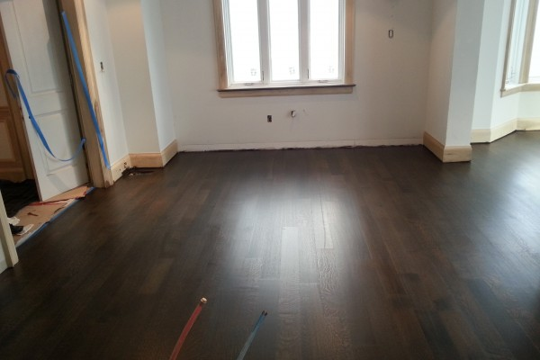 Smooth FInish Hardwood Floors Aurora Ontario