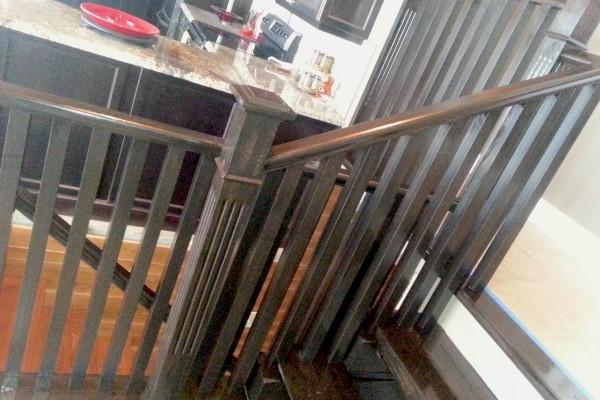 Stair Railing Rejuvination GTA