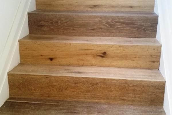 engineer hardwood staircase, custom made