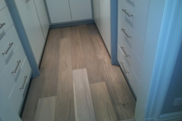 hardwood installation, white Oak,