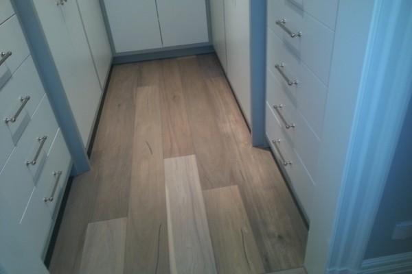 hardwood installation, white Oak,